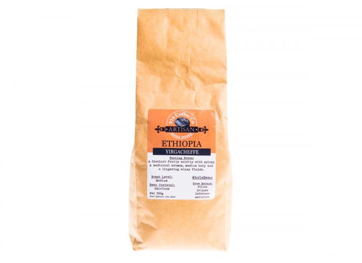 500g bag of Ethiopian single origin coffee