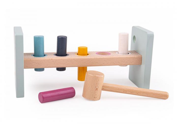 Bigjigs 100% FSC® certified wooden hammer bench