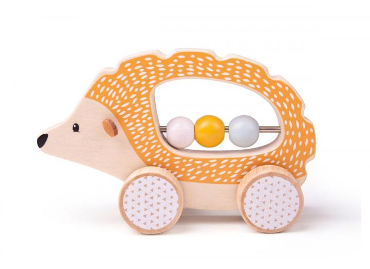 Bigjigs 100% FSC® certified push along hedgehog