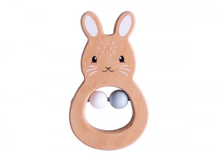 Bigjigs 100% FSC®  certified rabbit rattle