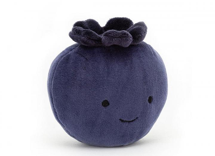 Fabulous fruit blueberry cuddly toy from Jellycat