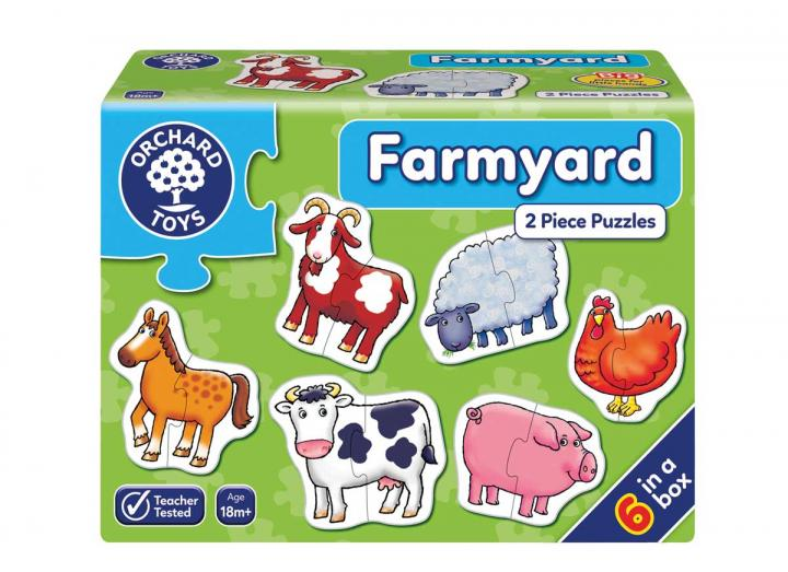 Farmyard jigsaw puzzle from Orchard Toys