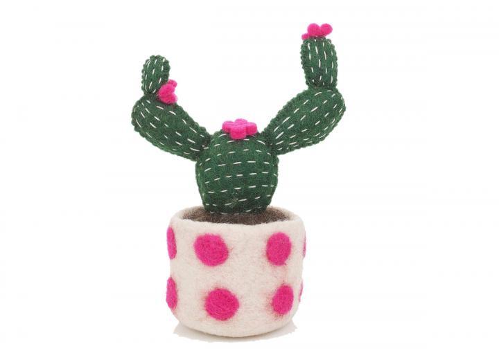 Felt Opuntia Cactus from Felt So Good