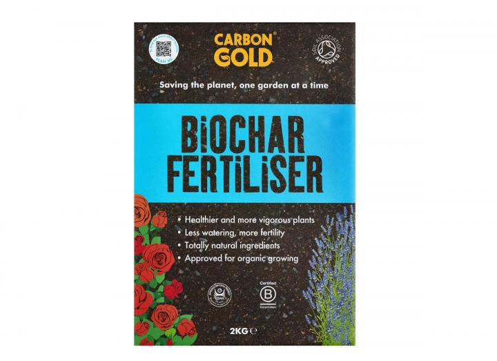 Carbon Gold biochar fertiliser 2kg