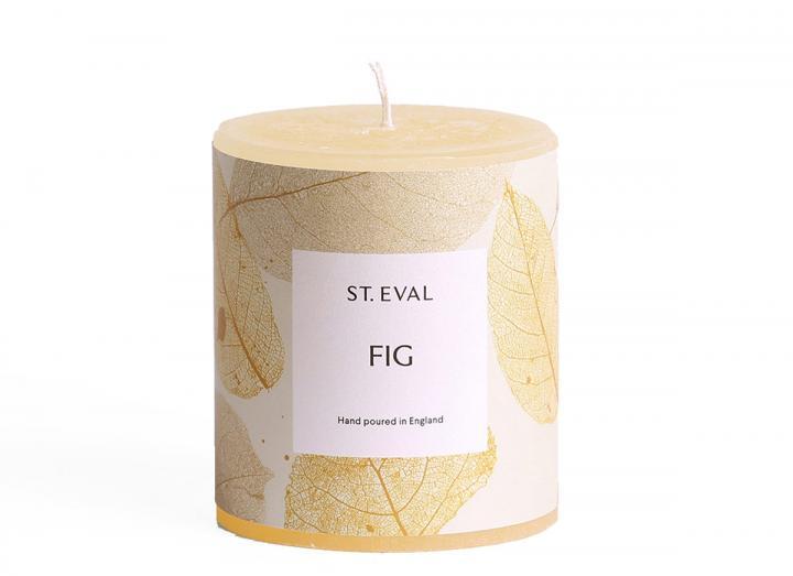 Fig, Garden of Eden Scented Pillar Candle