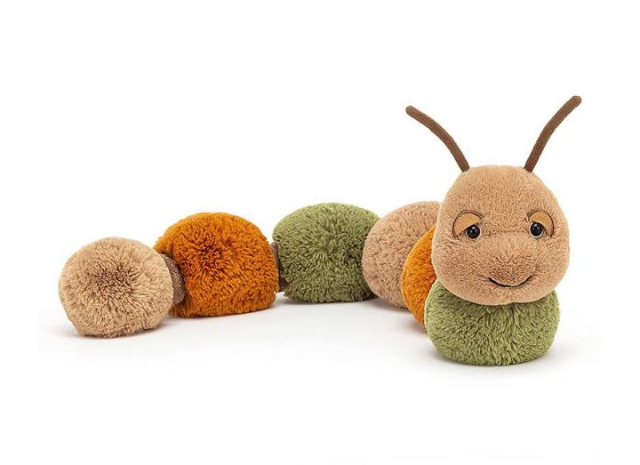 Figgy caterpillar cuddly toy from Jellycat