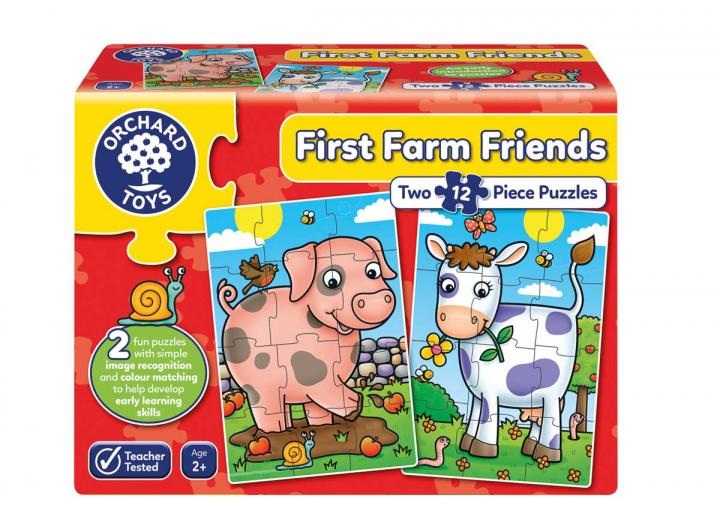 First Farm Friends jigsaw puzzle from Orchard Toys