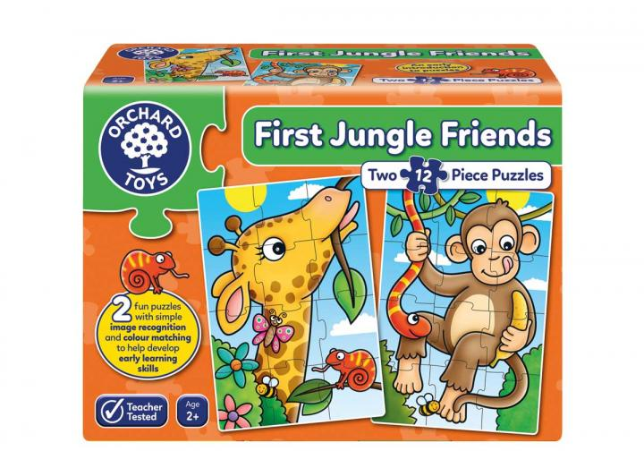 First jungle friends jigsaw puzzle from Orchard Toys