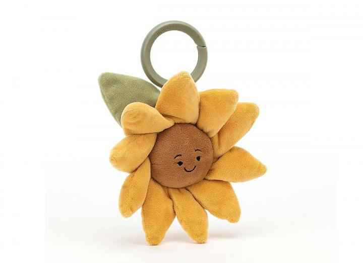 Fleury sunflower jitter toy from Jellycat