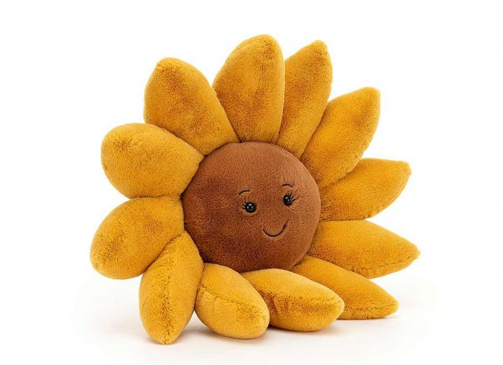 Fleury sunflower cuddly toy from Jellycat