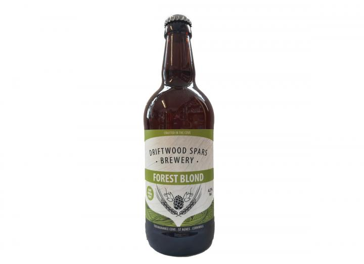 Forest Blond ale, brewed in Cornwall by Driftwood Spars Brewery
