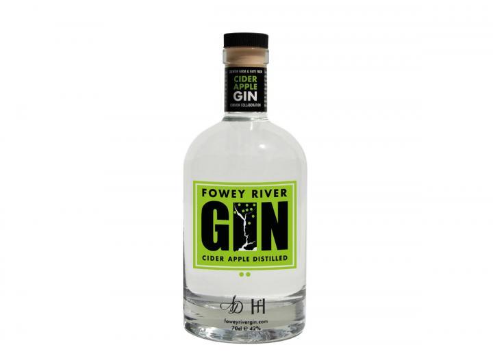 Fowey River cider apple gin