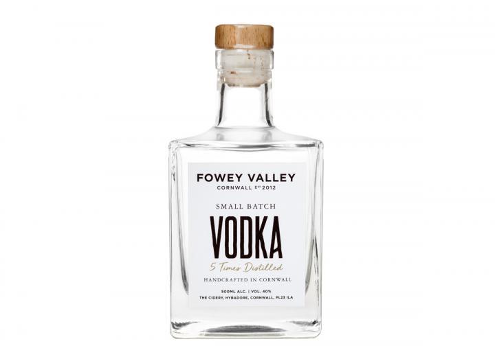 Fowey Valley vodka 500ml bottle