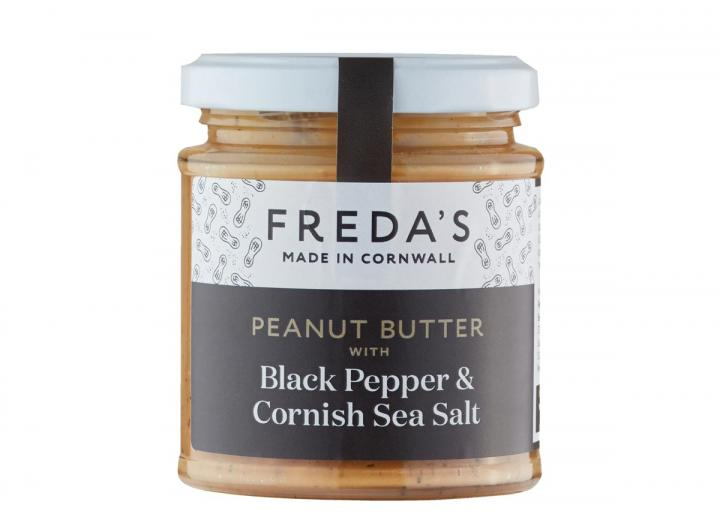 Freda's peanut butter with black pepper & Cornish sea salt