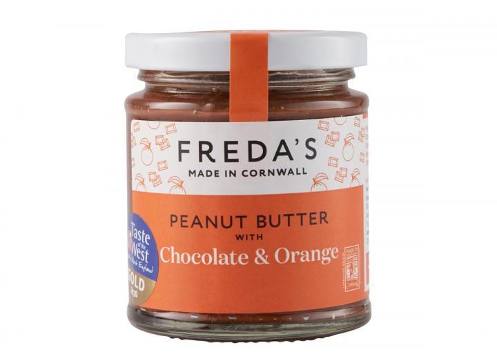 Freda's peanut butter with chocolate & orange