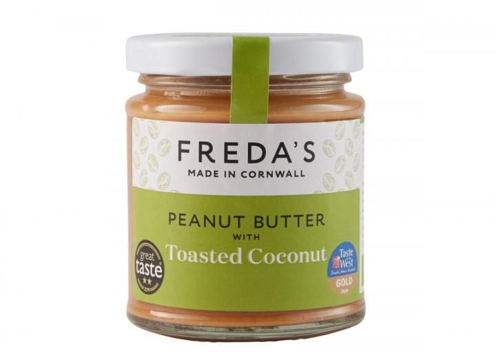 Freda's peanut butter with toasted coconut