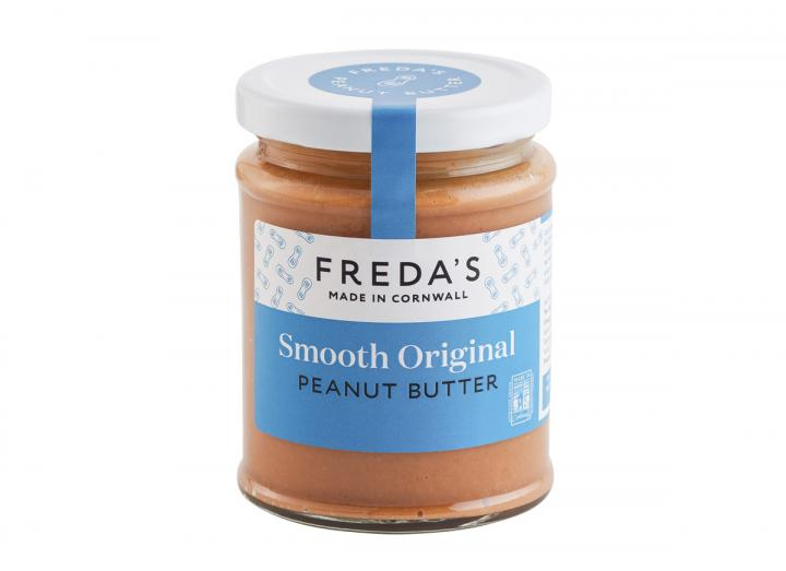 Freda's smooth original peanut butter