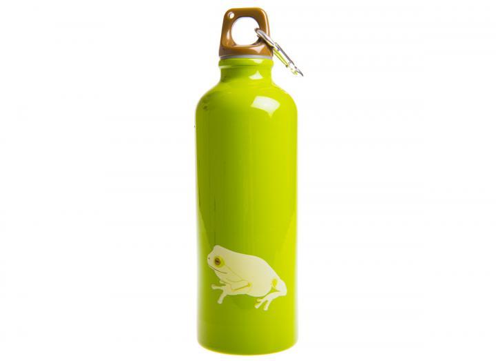 Stainless steel frog design drinking bottle