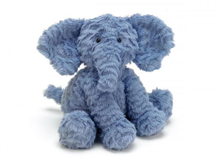 Fuddlewuddle elephant cuddly toy from Jellycat