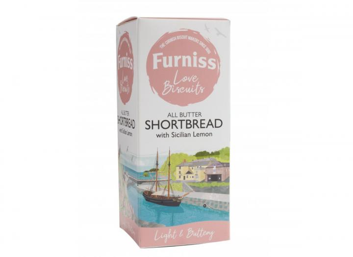 Furniss all butter shortbread with Sicilian lemon 200g