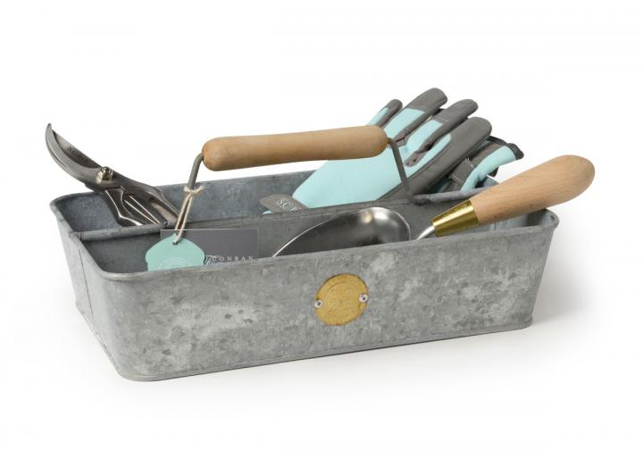 Galvanised garden trug by Sophie Conran for Burgon & Ball