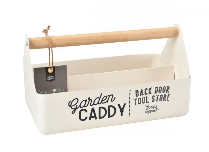 Garden Caddy in stone from Burgon & Ball