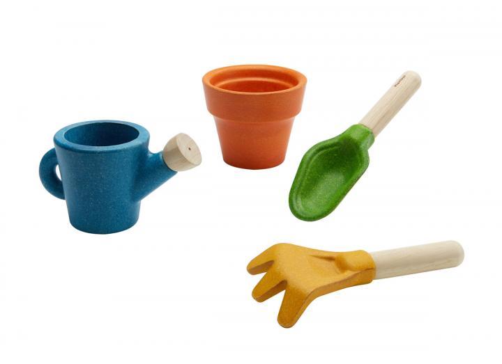 Plan Toys gardening set