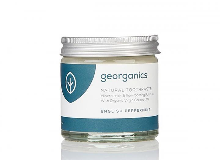 Natural mineral rich toothpaste peppermint