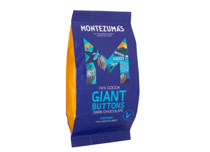 Montezuma's giant organic dark chocolate buttons 180g
