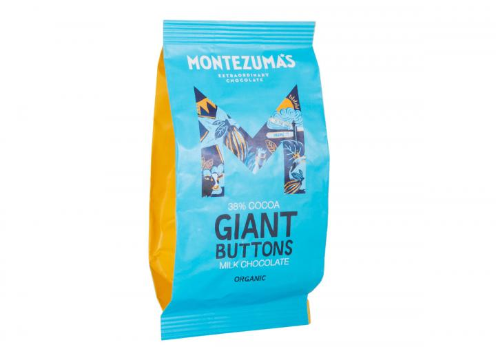 Montezuma's giant organic milk chocolate buttons 180g