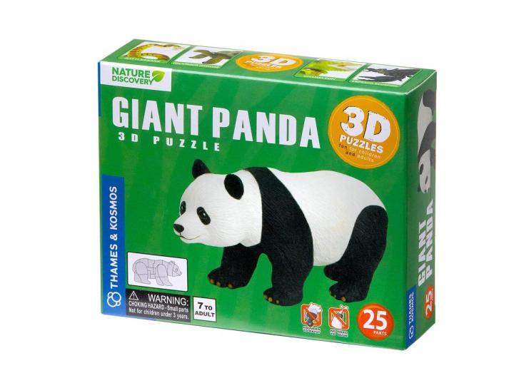 Giant Panda 3D puzzle box Thames and Kosmos