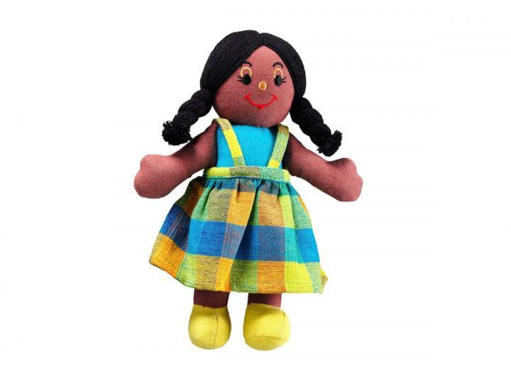 Lanka Kade girl doll black skin black hair