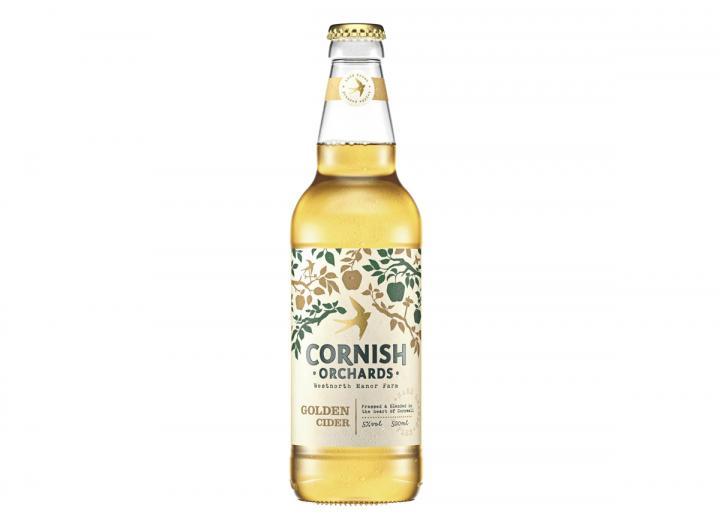 Cornish Orchards golden cider 500ml