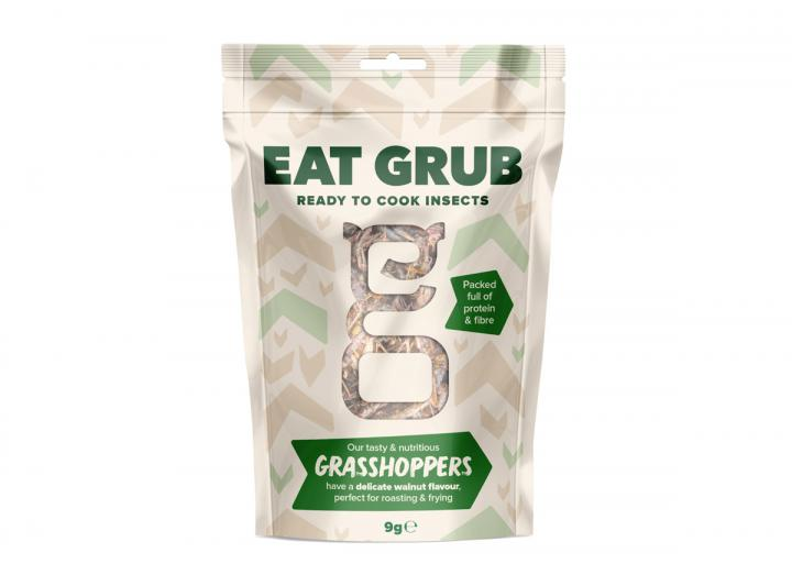 Edible grasshoppers from Eat Grub