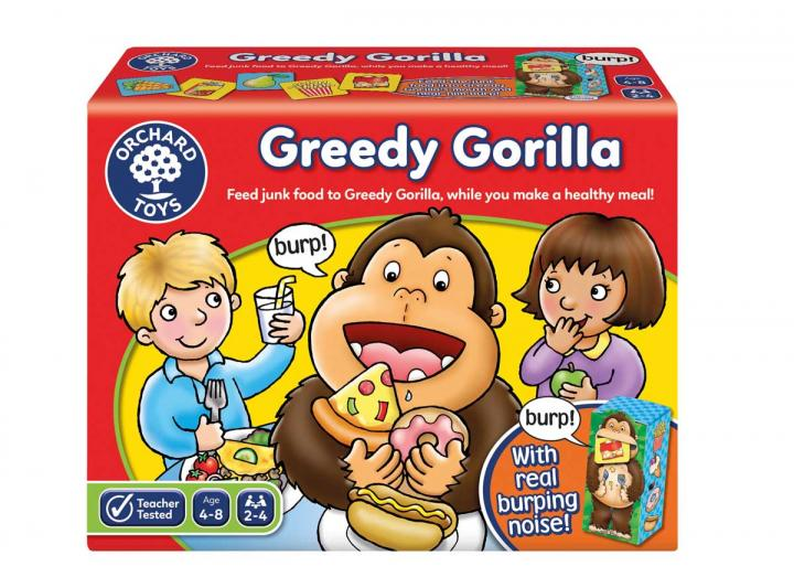 Greedy Gorilla game from Orchard Toys