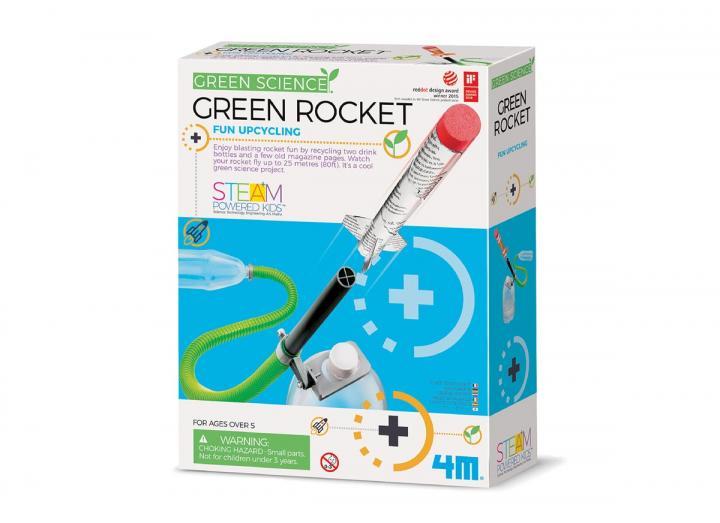 Green Rocket science kit