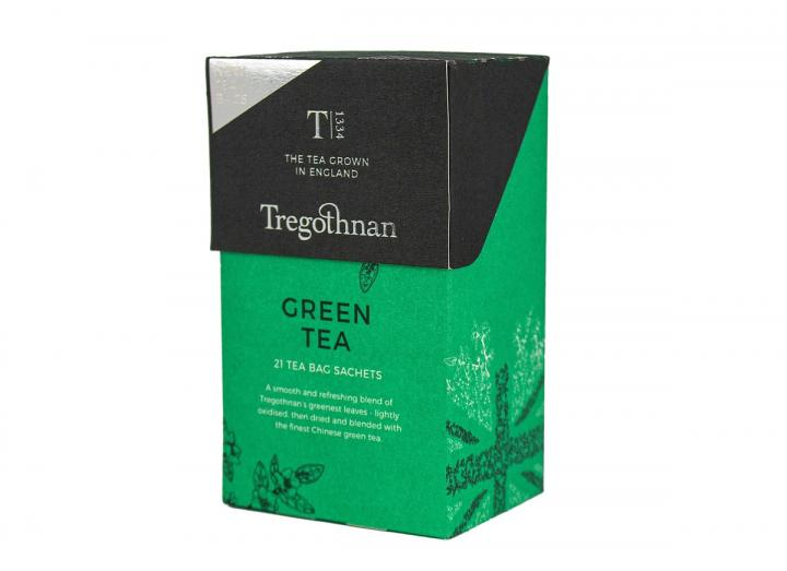 Tregothnan green tea 21 tea bag sachets