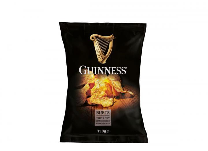 Burts Guinness potato chips