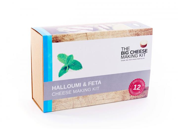 Halloumi & feta cheese making kit