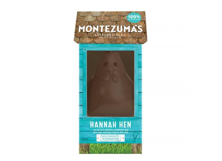 Montezuma's Hannah Hen like no udder milk chocolate alternative egg 275g