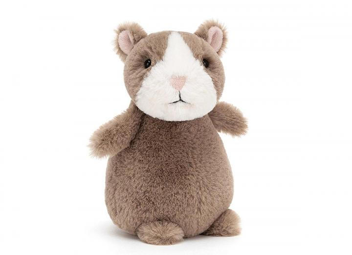 Happy nutmeg hamster cuddly toy from Jellycat