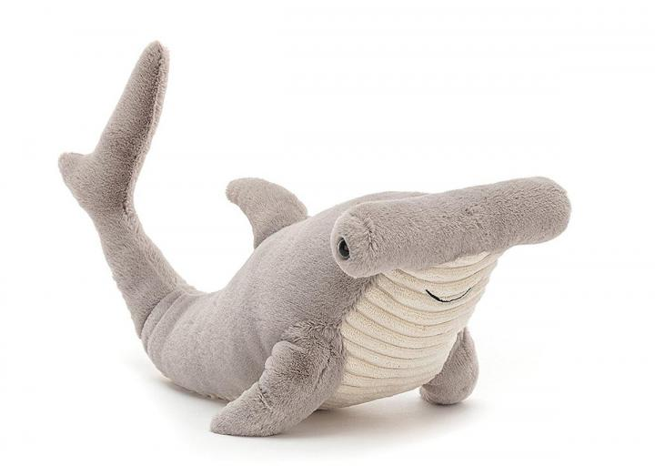 Harley hammerhead shark cuddly toy from Jellycat