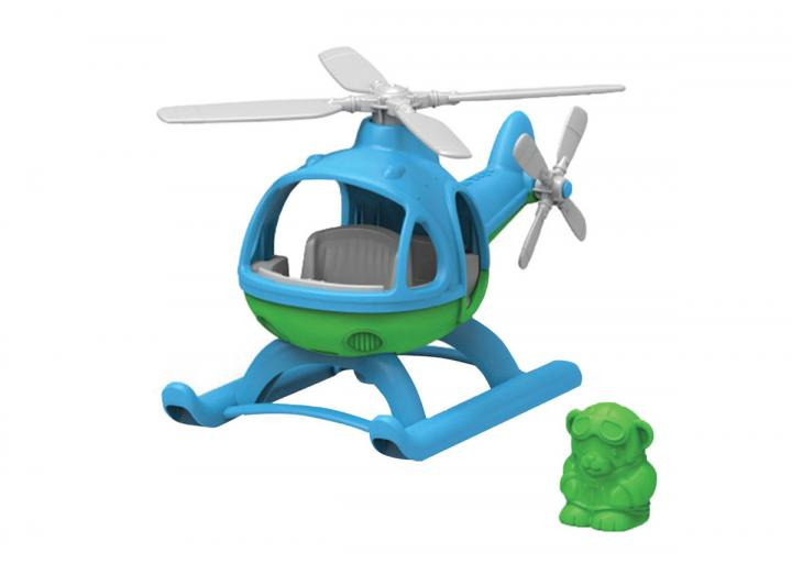 Helicopter recycled plastic