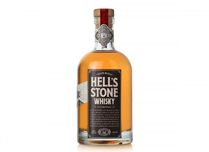 Hell's Stone Cornish Whisky from Pocketful of Stones Distillery in Cornwall