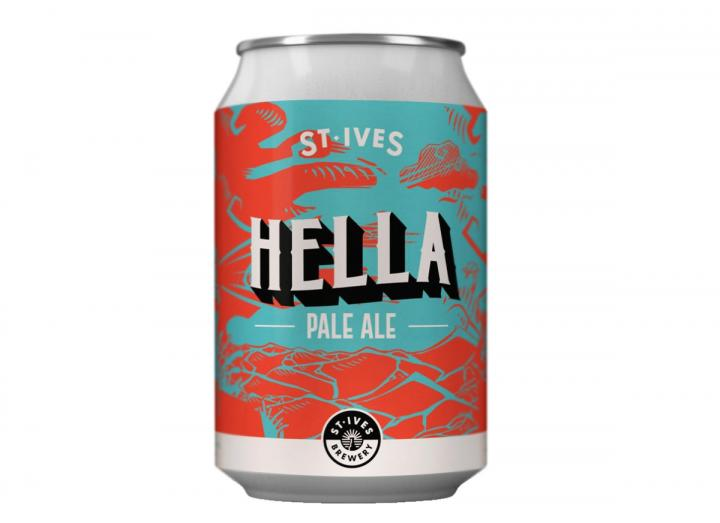 Hella Pale Ale from St Ives Brewery in Cornwall