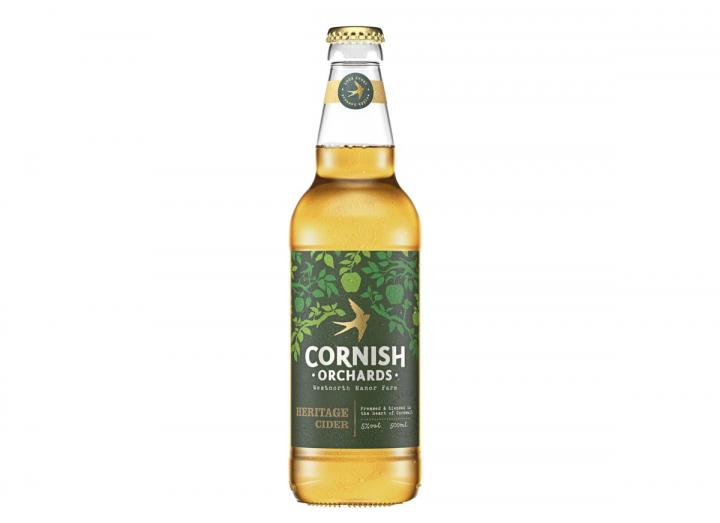 Heritage cider from Cornish Orchards