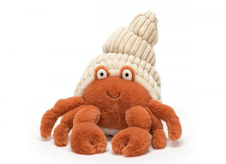 Herman hermit cuddly toy from Jellycat