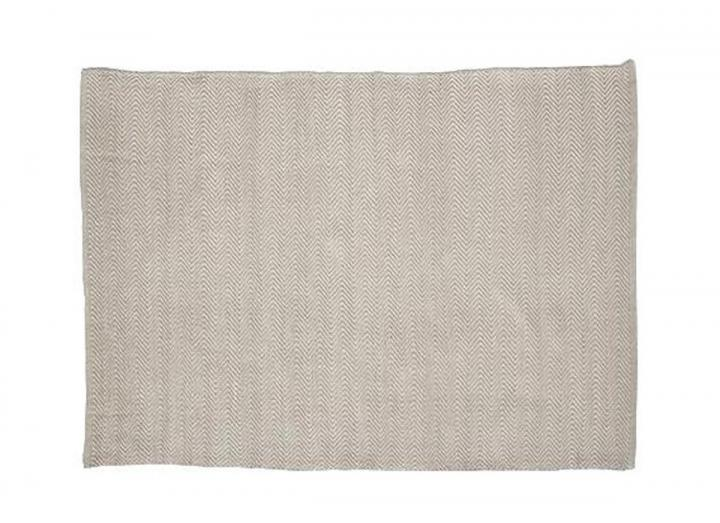 Herringbone design rug from Weaver Green