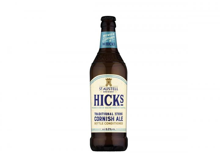 Hicks Cornish ale from St Austell Brewery