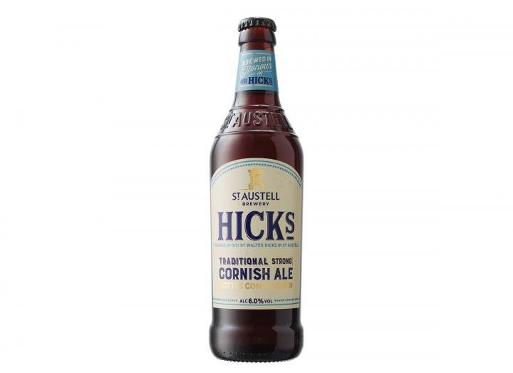 St Austell Brewery Hicks traditional strong Cornish ale 500ml